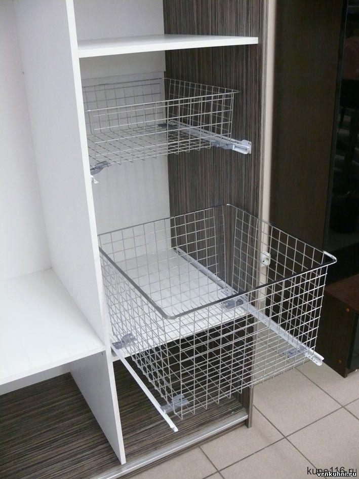 Кухни - наполнение шкафов - купе.